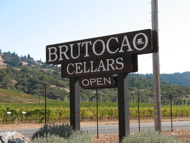 Our second stop was at Brutocao Cellars another family winery. The Brutocao family traces its heritage to the Veneto region of Italy. & Kenneth E. Harker - 2009 Anderson Valley and Ukiah Valley